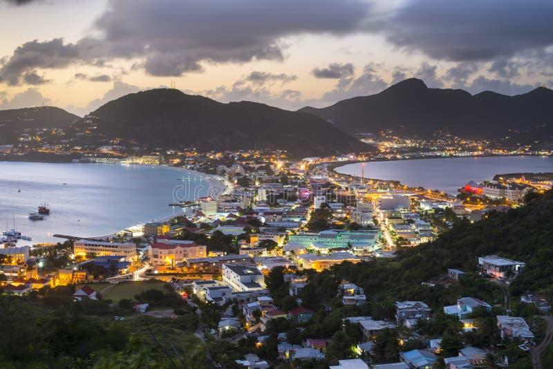 Philispburg, Sint Maarten, Néerlandais Antilles images libres de droits