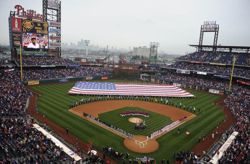 Download Phillies Opening Day Editorial Image - Image: 19410255
