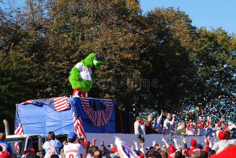 Phillies World Series 2008 Parade stock photo