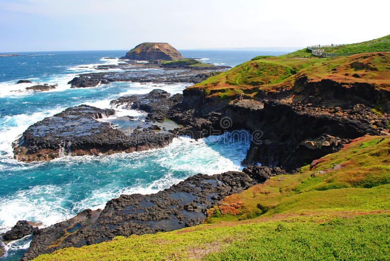 Download Phillip Island stock image. Image of blow, erosion, eroded - 19254837
