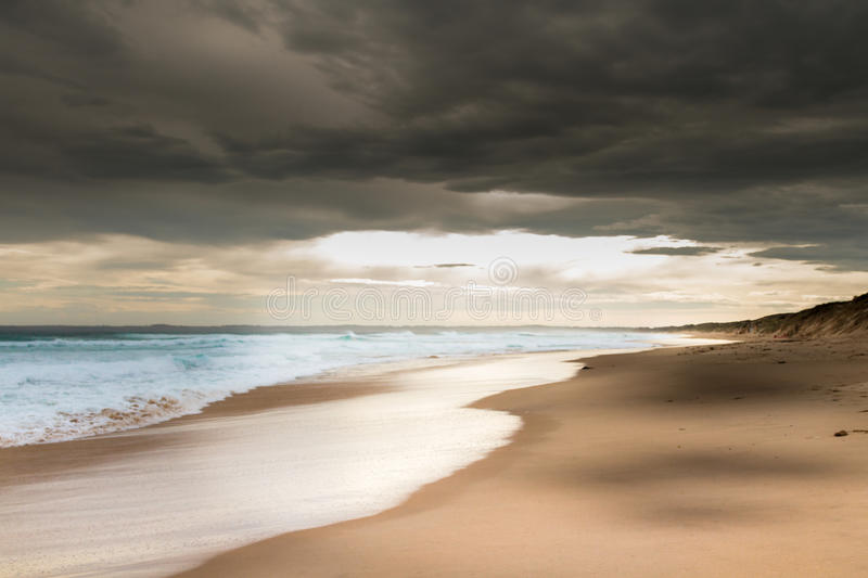 Phillip Island Beach royalty free stock images
