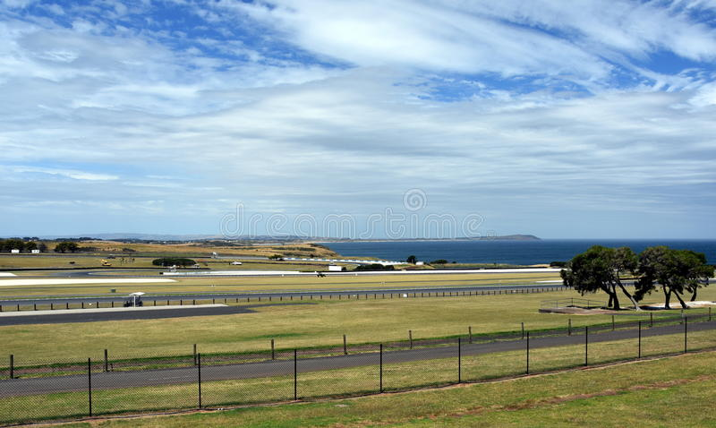 The Phillip Island Grand Prix Circuit stock images