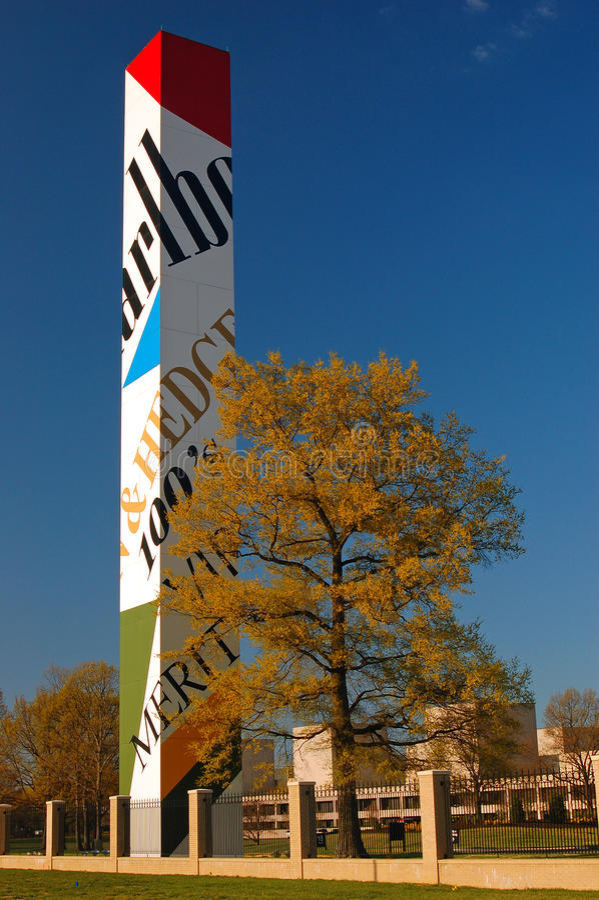 Phillip Morris Headquarters-Ni Richmond Virginia royalty-vrije stock fotografie