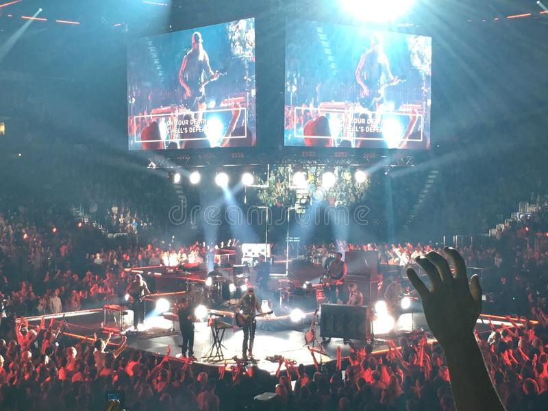 Phillips Arena image libre de droits