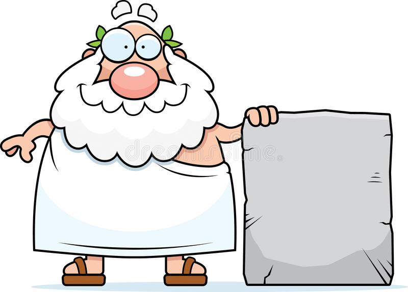 Download Philosopher Tablet stock vector. Image of rock, philosopher - 13092055
