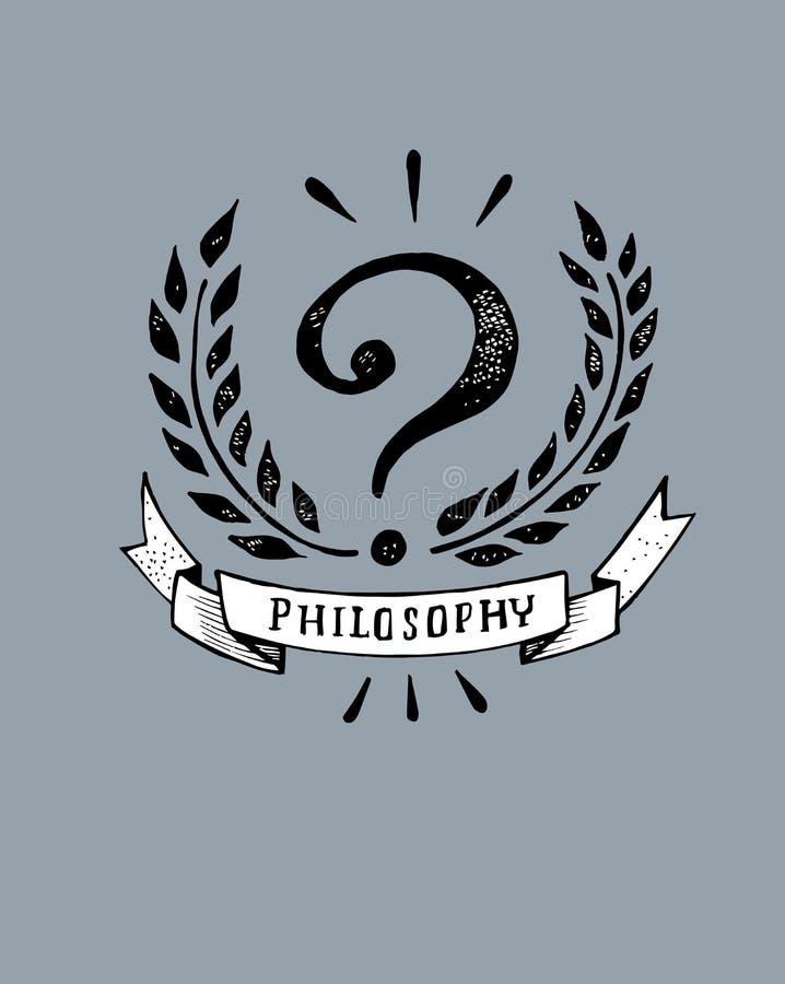 philosophy иллюстрация штока