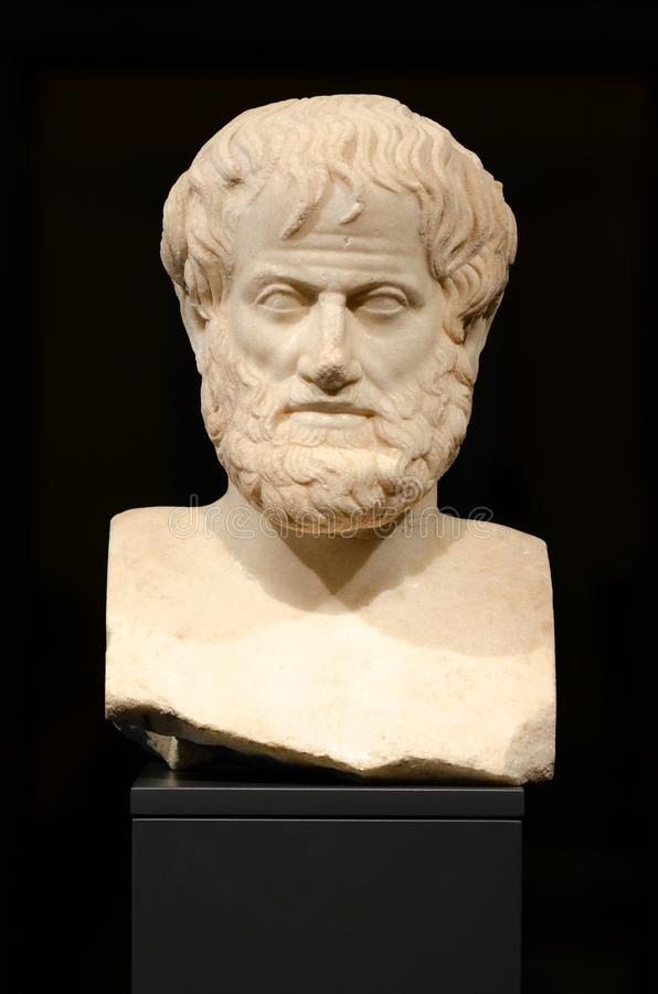 Philosophy. Aristotle stock photos