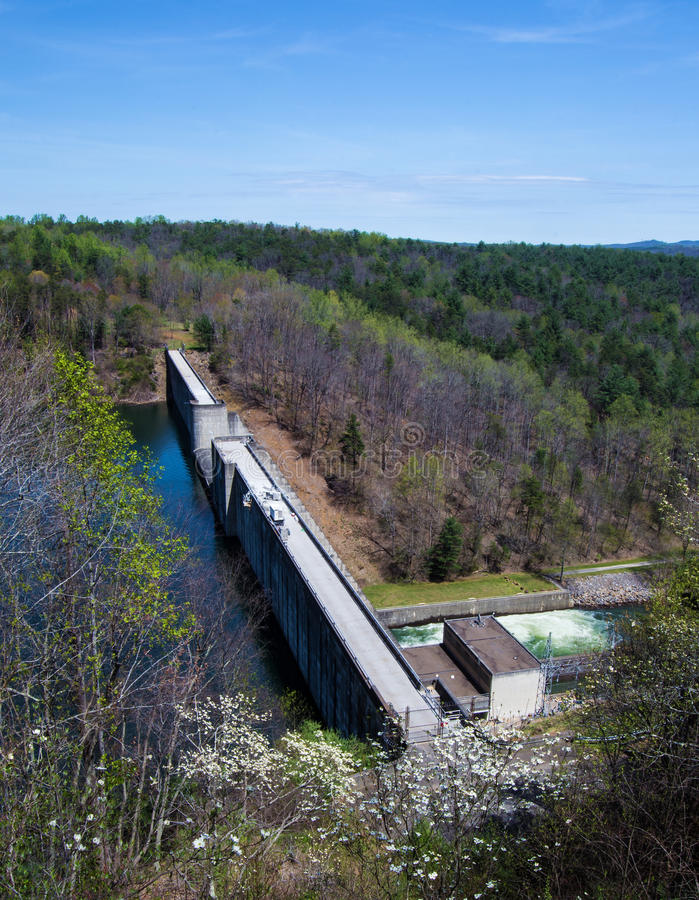 Philpott Lake Dam stock photography