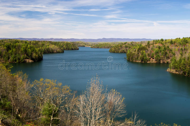 Philpott Lake, Virginia, USA stock photo