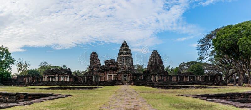 Phimai历史公园, nakornratchasima,泰国 图库摄影