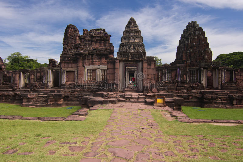 Download Phimai historical park stock photo. Image of holiday - 26271084