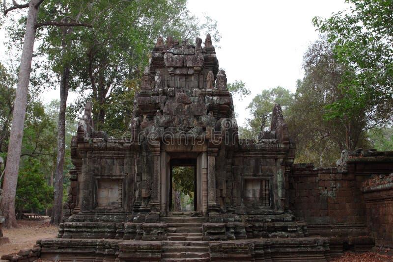 Phimeanakas Angkor Thom arkivbilder