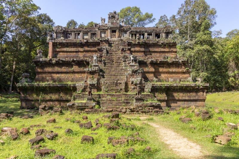 Phimeanakas tempel i Angkor Thom, den sista och mest bestående huvudstaden av en khmervälden cambodia skördar siem arkivfoton
