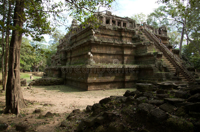 Download Phimeanakas Temple stock image. Image of asian, structure - 28623337