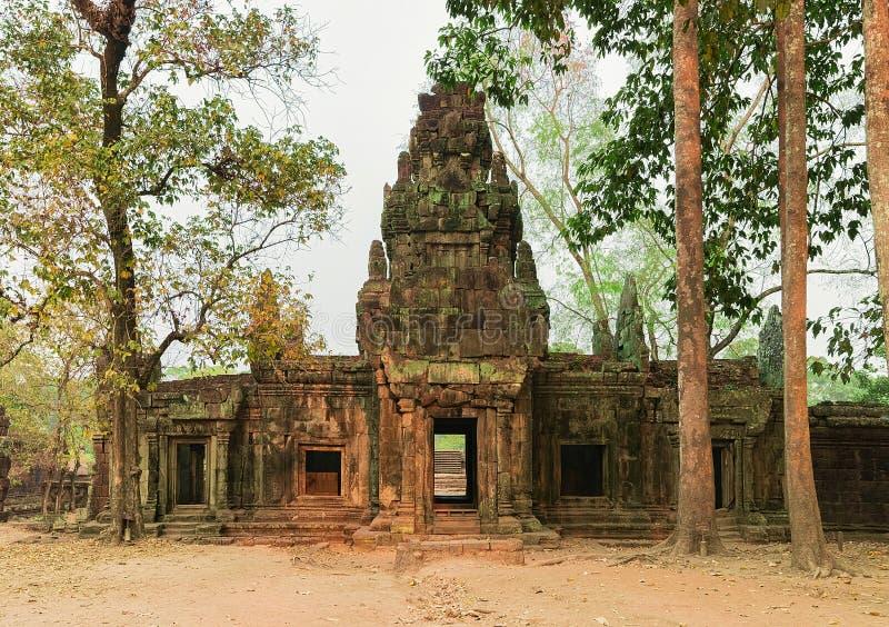 Phimeanakas temple Angkor Thom complex Siem Reap Cambodia. Phimeanakas temple in Angkor Thom complex, Siem Reap, in Cambodia royalty free stock image