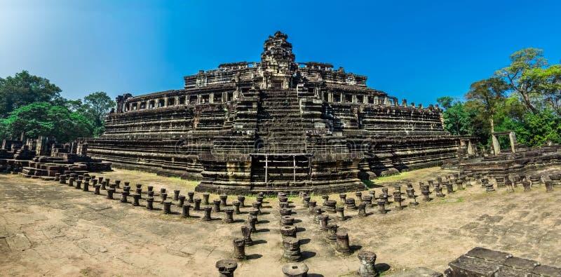 Phimeanakastempel, Angkor Thom stock afbeelding