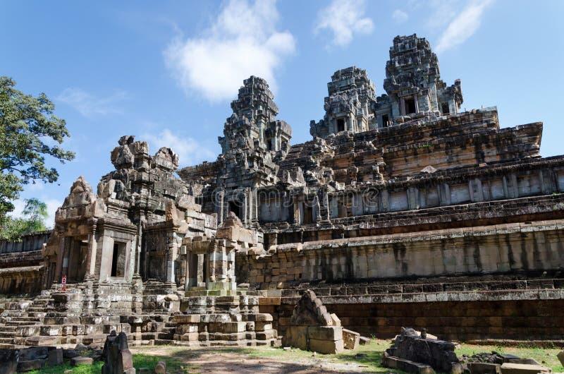 Phimeanakastempel in Angkor Thom stock afbeelding