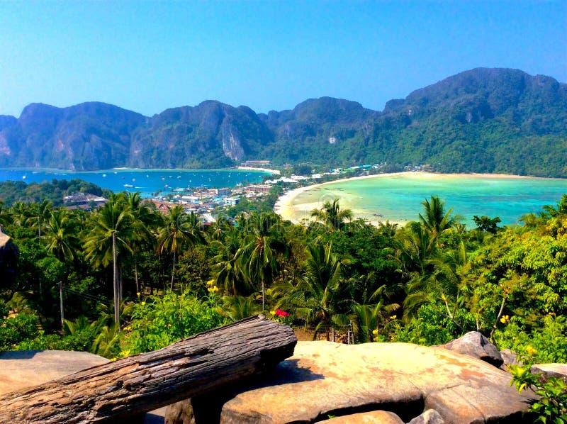 PhiPhiisland Thailand stock fotografie