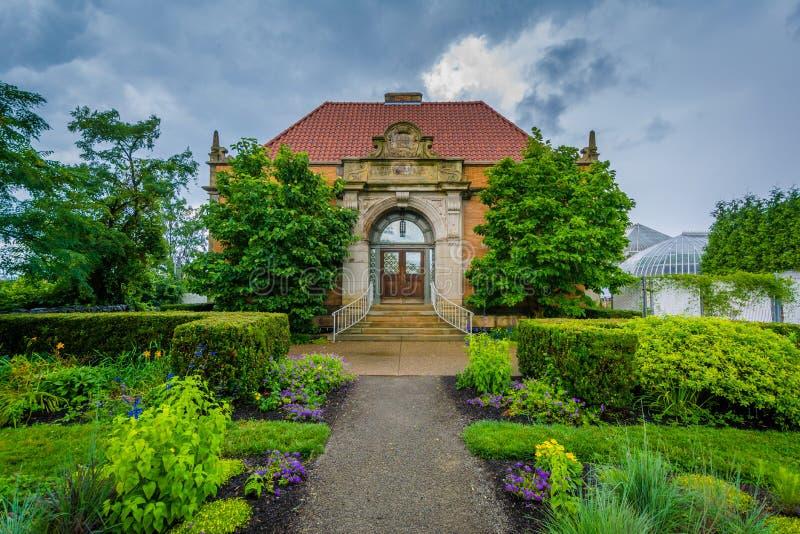 Phipps Hall botanika, w Pittsburgh, Pennsylwania obrazy stock