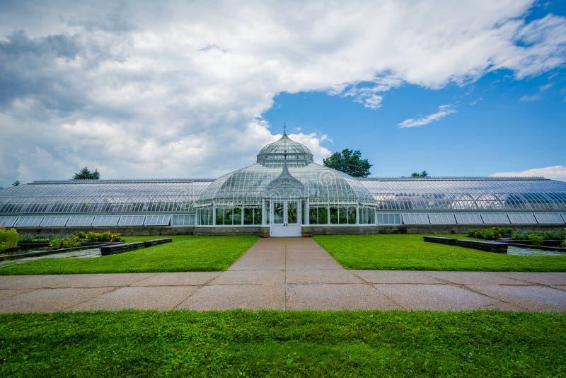 Phipps konserwatorium w Pittsburgh, Pennsylwania fotografia royalty free