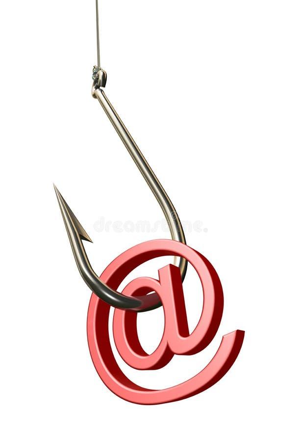phishing vektor illustrationer