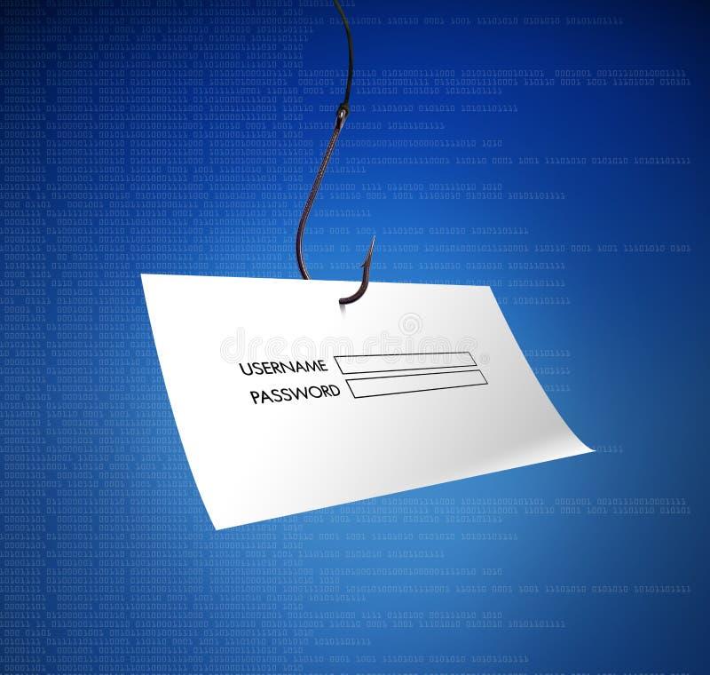 Phishing στοκ εικόνες