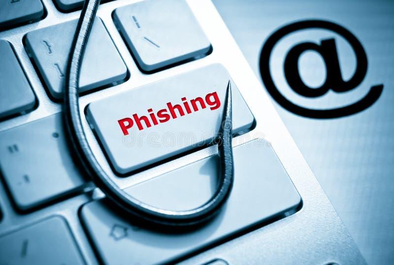 Phishing στοκ φωτογραφίες