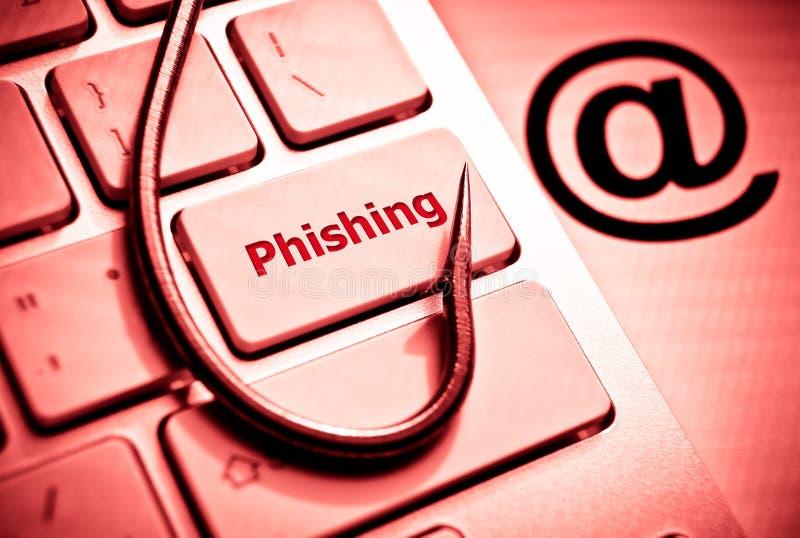 Phishing fotos de archivo libres de regalías