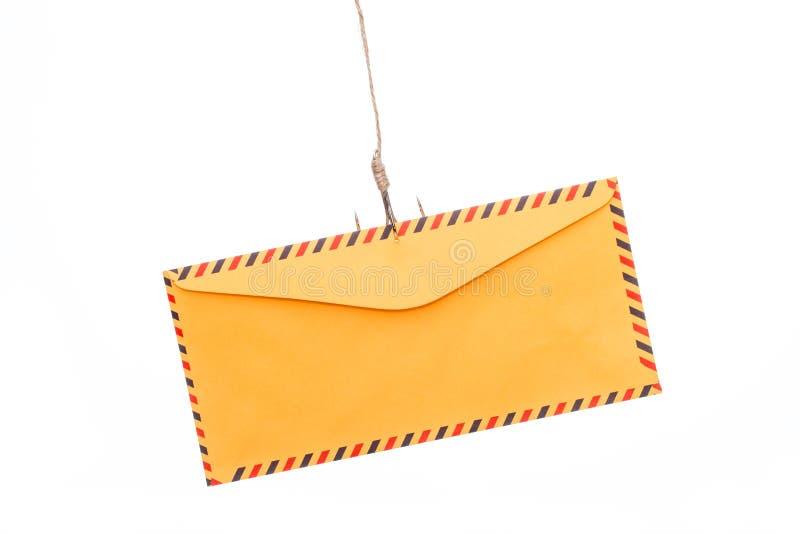 Download Phishing del correo aéreo imagen de archivo. Imagen de aislado - 64210133