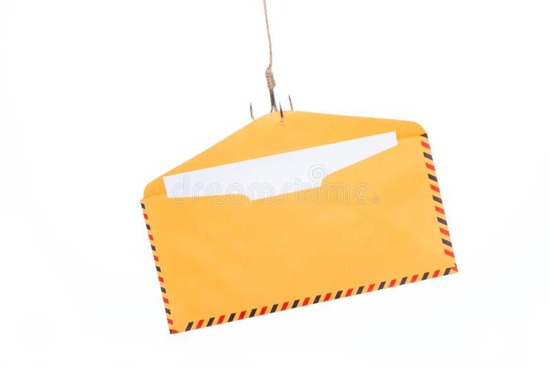 Download Phishing del correo aéreo imagen de archivo. Imagen de amenaza - 64210147