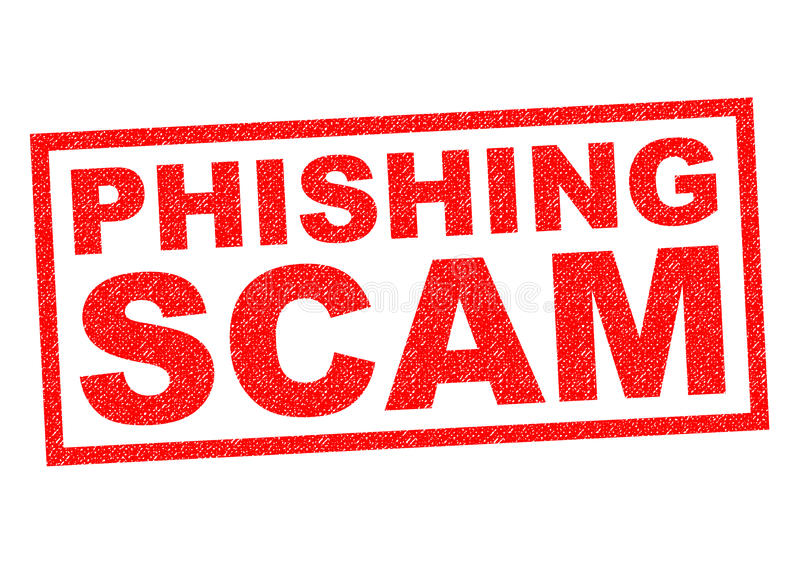 Phishing Scam vector illustratie