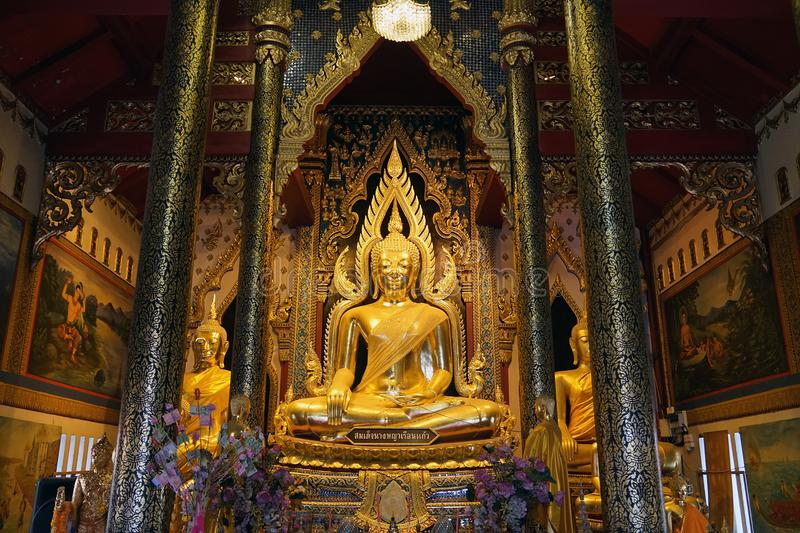 Phitsanulok Buddha Thailand Temple Buddhism God Travel Religion.  royalty free stock photos