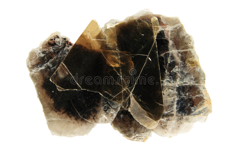 Phlogopite mica royalty-vrije stock afbeeldingen