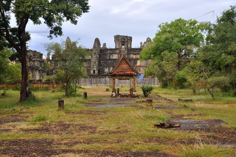 Phnom Bakheng σε Angkor Wat στοκ εικόνες με δικαίωμα ελεύθερης χρήσης