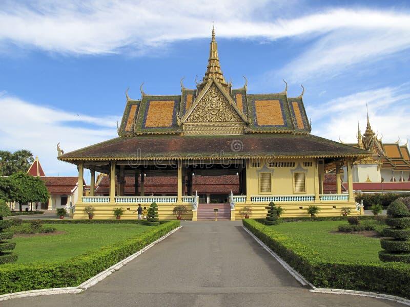 phnom penh дворца Камбоджи королевское стоковое изображение