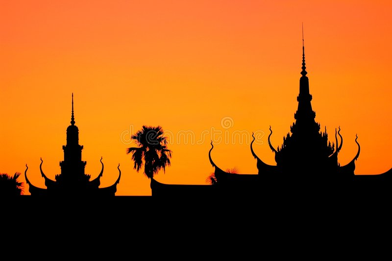 Phnom Penh, Camboya fotografía de archivo