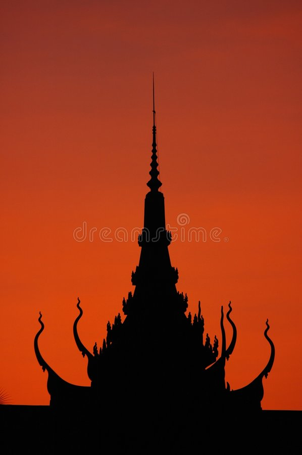 Phnom Penh, Camboya imagen de archivo libre de regalías