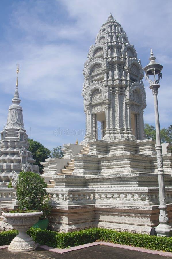Stupa Kantha Bopha in Phnom Penh royalty free stock photography