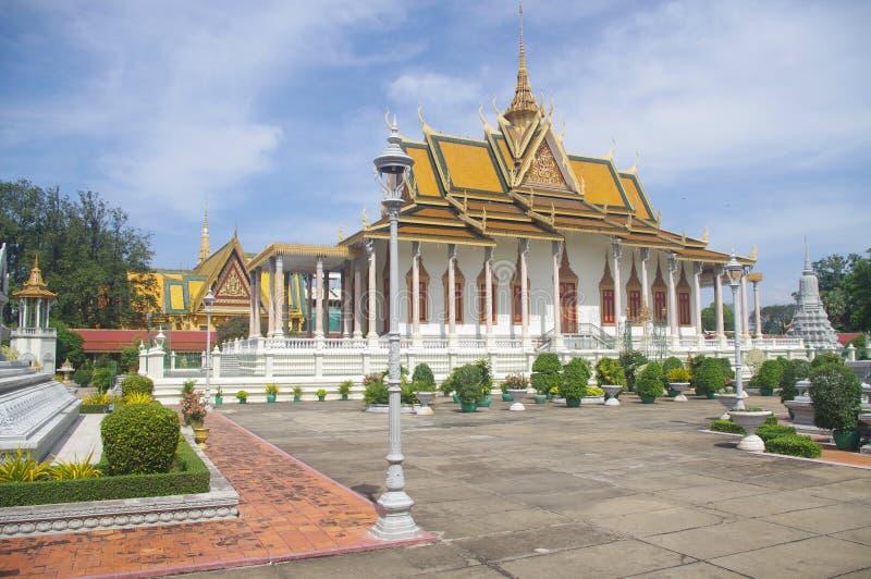 Vihara, a Buddhist monastery royalty free stock images