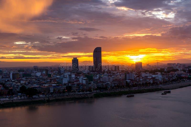 Phnom Penh Kambodja Juni 2015 royalty-vrije stock foto's