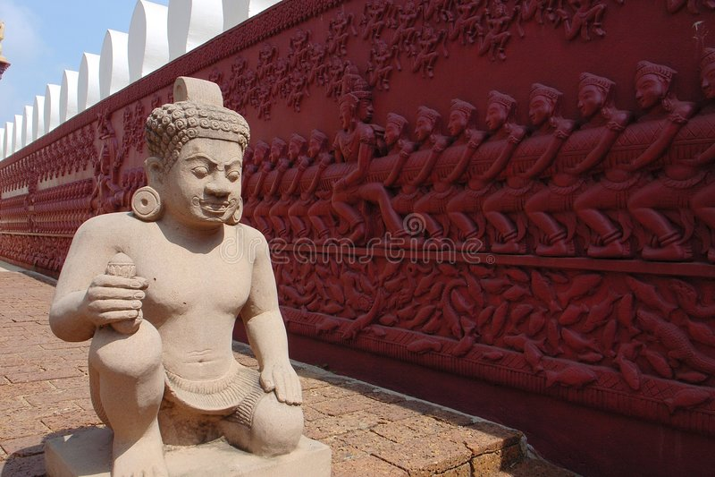 Phnom Penh, Kambodscha stockbilder