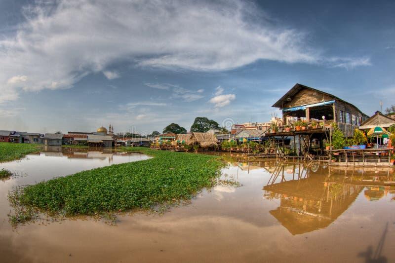 Download Phnom Penh, Lake side stock photo. Image of backpack - 19987898