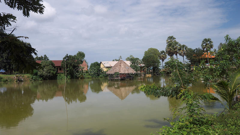 Phnom- Penhtempel 2 lizenzfreie stockbilder