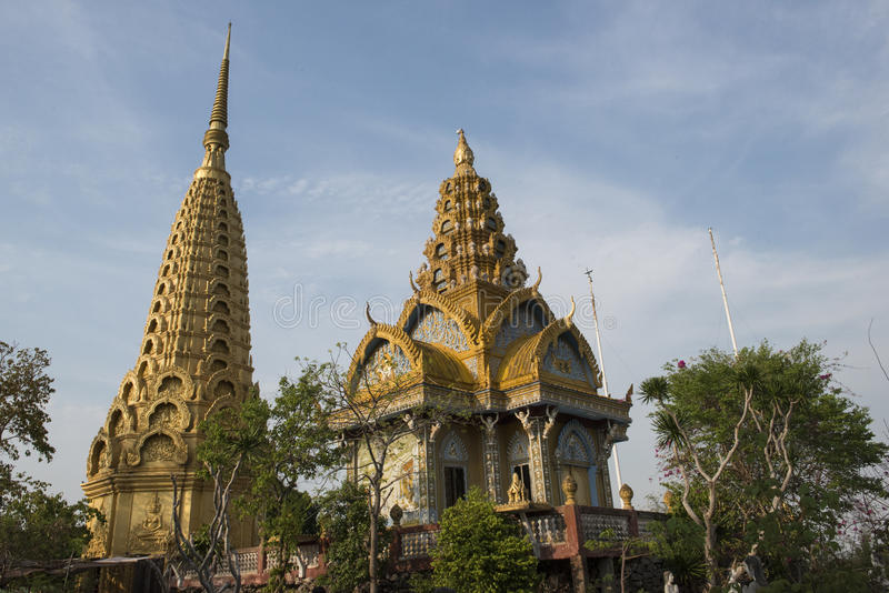 Phnom Sampeau Temple. Battambang, Cambodia royalty free stock photos