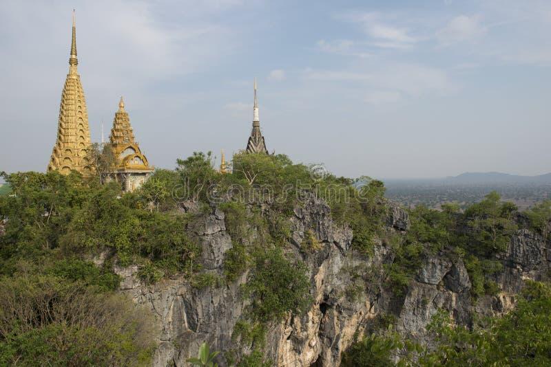 Phnom Sampeau Temple. Battambang, Cambodia royalty free stock images