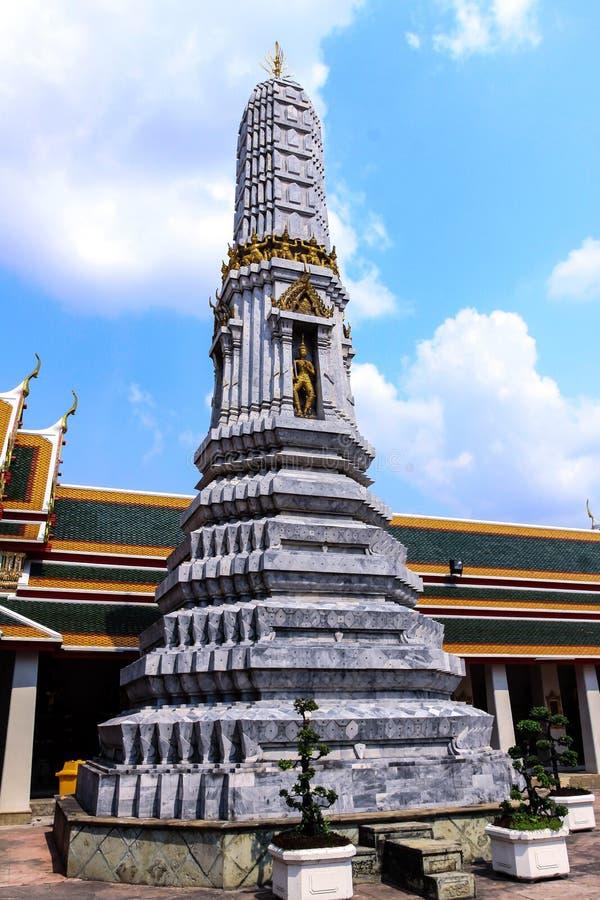 Pho Banguecoque Tailândia de Wat imagem de stock
