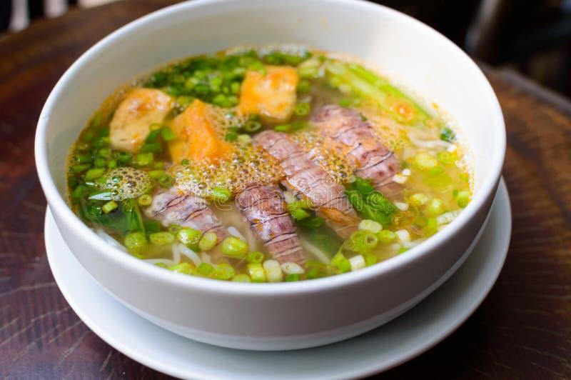 Pho Tom Vietnamese Soup fotografie stock