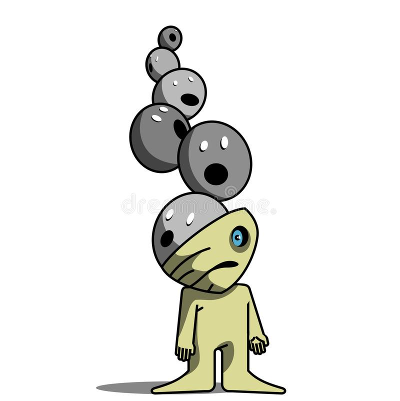 phobie illustration stock