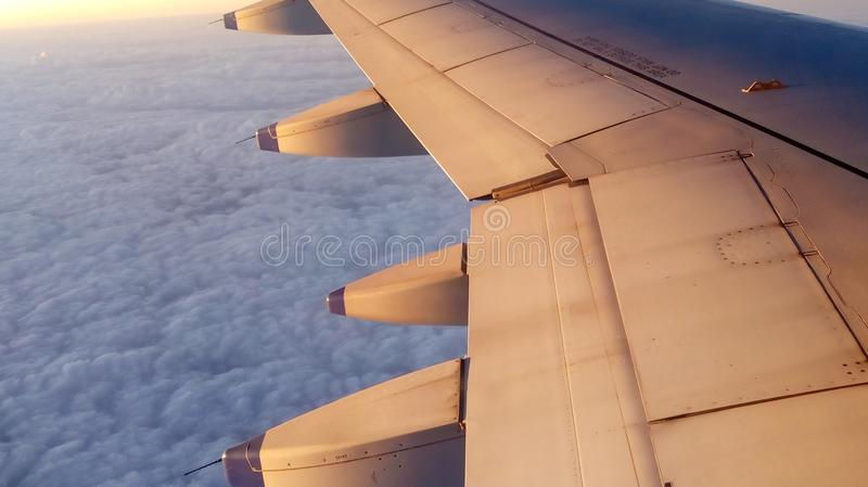 Phobie de vol de combat photo stock
