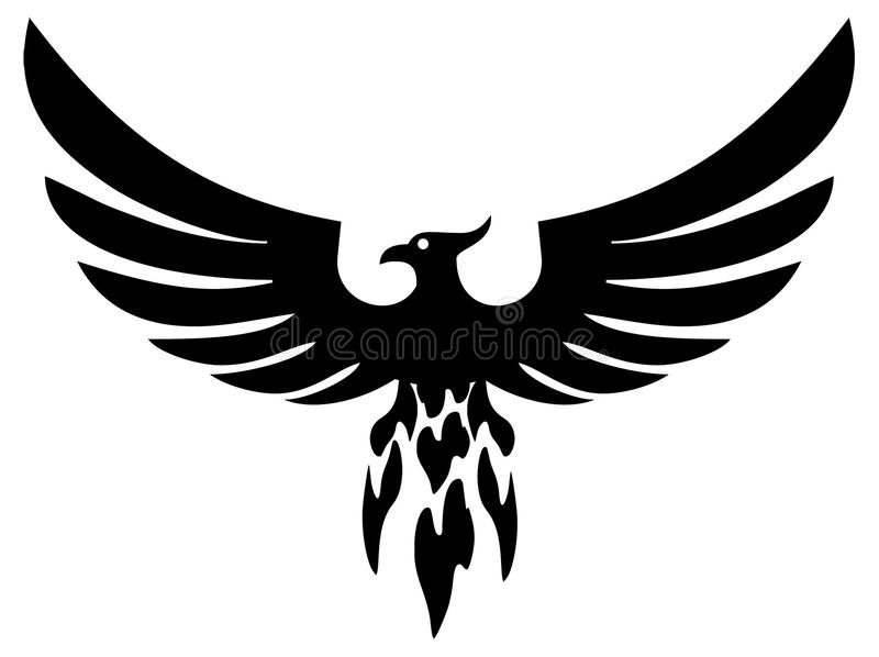 Phoenix illustration stock
